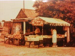 P.E. Mead Farm Shop in 1975